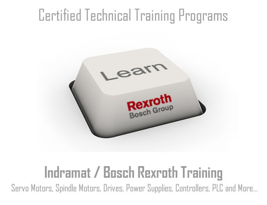 Technical schools training servo moto repair Indramat, Bosch, Rexroth learning programs